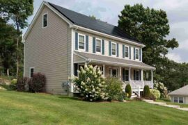 home with solar panels - homeowners associations say no to solar panels