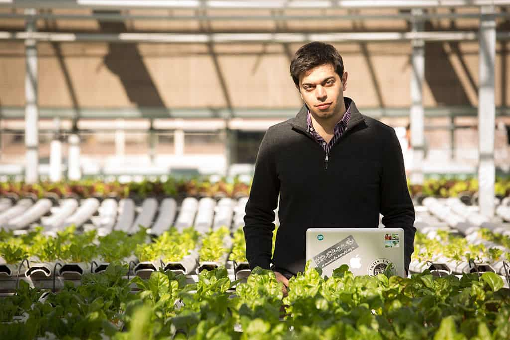 A Chat With The Owner Of The World S First Rooftop Farm Video
