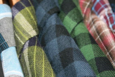 plaid shirts on rack - 7 cool ideas for repurposing old shirts