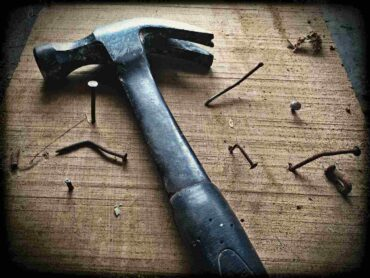 hammer and nails - home repairs not to diy