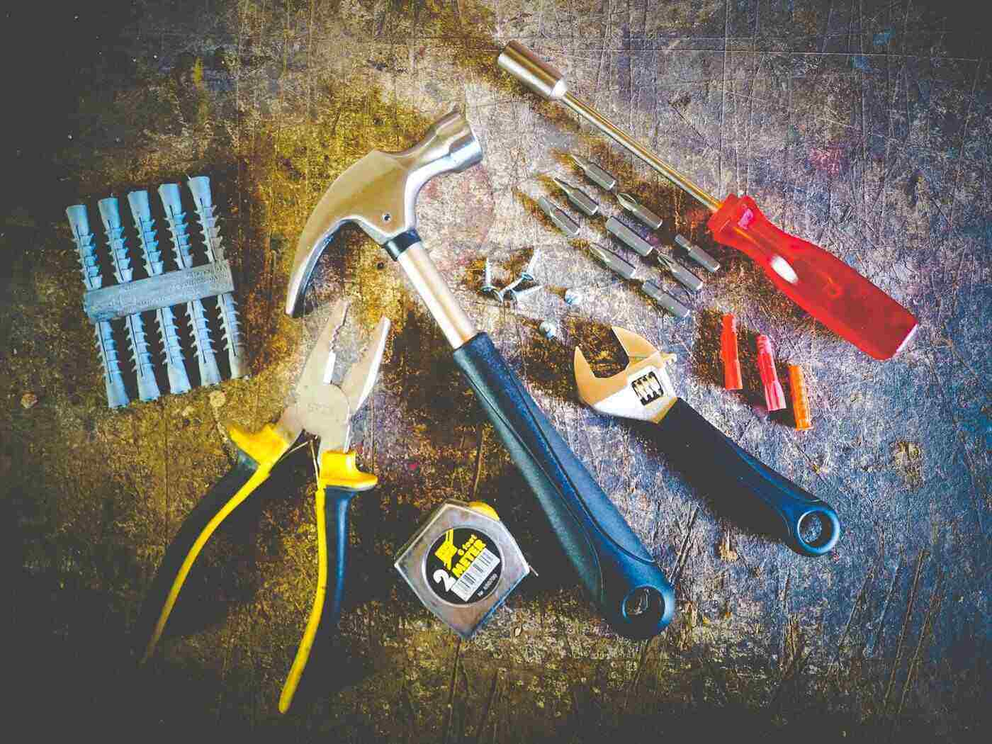 tools on plank - tips for eco-friendly diy home repairs