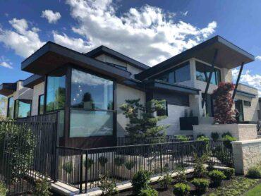 new home with new shrubs - modular homes vs stick-built homes