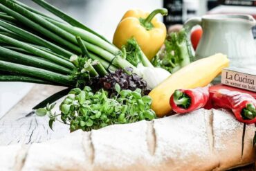 vegetables and bread - 5 ways reducing food waste can help save the environment