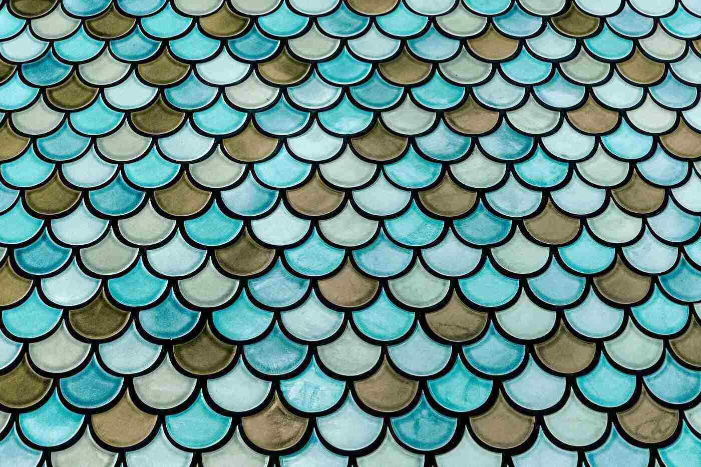 multi-coloured tiles - 4 ways to modernize your kitchen with eco-friendly tiling